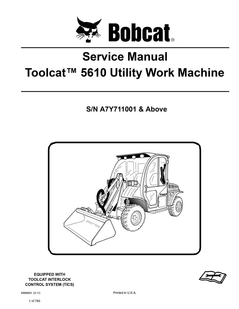 Bobcat 5610 Joystick Wire Diagram Electrical Wiring Ford Toolcat Explore Schematic U2022 S250 Equipment Diagrams