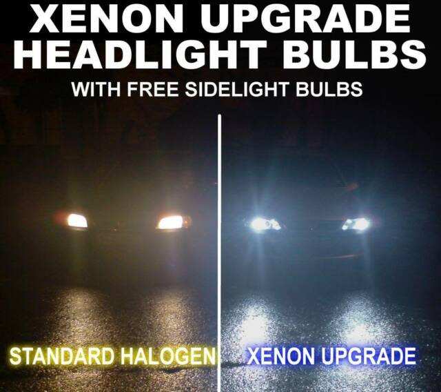 H Xenon Headlight White Bulbs Ford Fiesta Focus Ka St