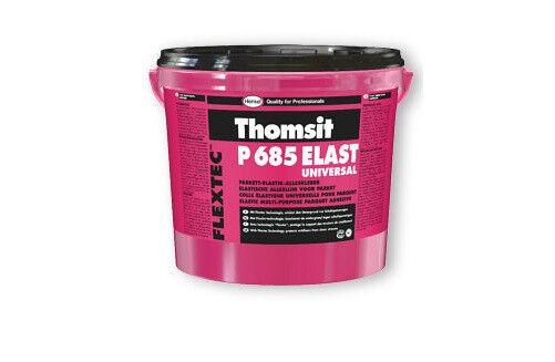 Thomsit P 685 Elast Universal 16 kg -Elast. Klebstoff f. Massiv-u. Fertigparkett