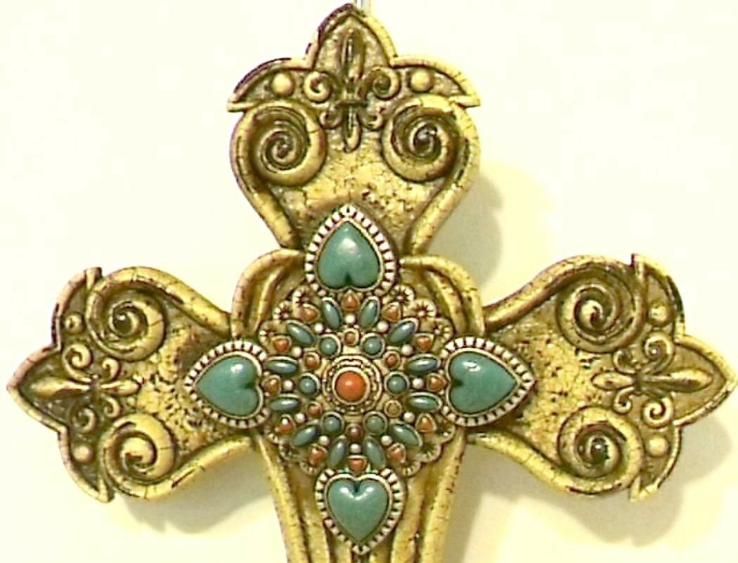 Exelent Turquoise Cross Wall Decor Collection - Wall Art Ideas ...