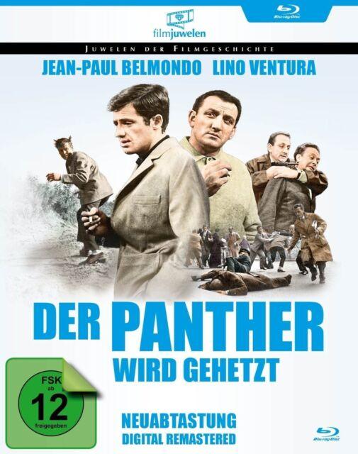 Der Panther wird gehetzt (Jean-Paul Belmondo, Lino Ventura) Blu-ray NEU + OVP!