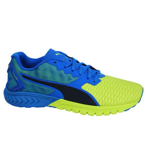 PUMA Ignite Dual Blue Yellow Mens Running Shoes SNEAKERS Trainers 189094-02  UK 8 | eBay