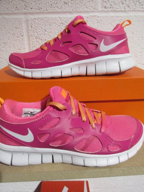 Nike Free Run 2 Gs Scarpe da corsa 477701 603 Scarpe da ginnastica Scarpe
