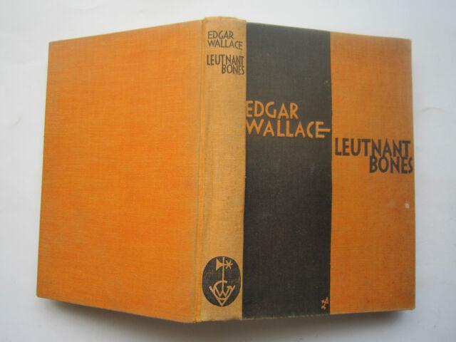 """""""Leutnant Bones"""" Krimi von Edgar Wallace, ca. 1925"""