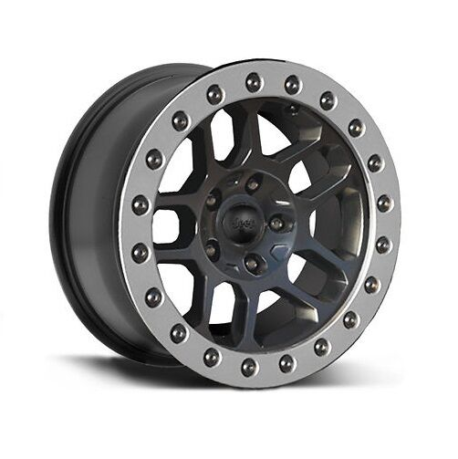 Jeep wrangler jk 07 17 beadlock capable wheel 77072466 17x8 oem picture 1 of 1 sciox Image collections
