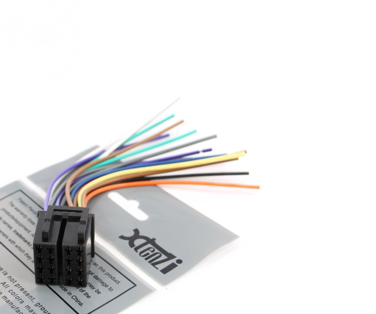 xtenzi 16 pin radio wire harness for pyle pldn72bt pldn70u ebay rh ebay com Pyle Electronics Pyle Marine Audio