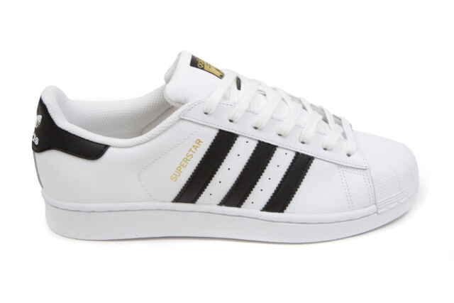 Adidas Men\u0027s Superstar in White/Black C77124 BNIB Sizes 3.5-18 FREE SHIP
