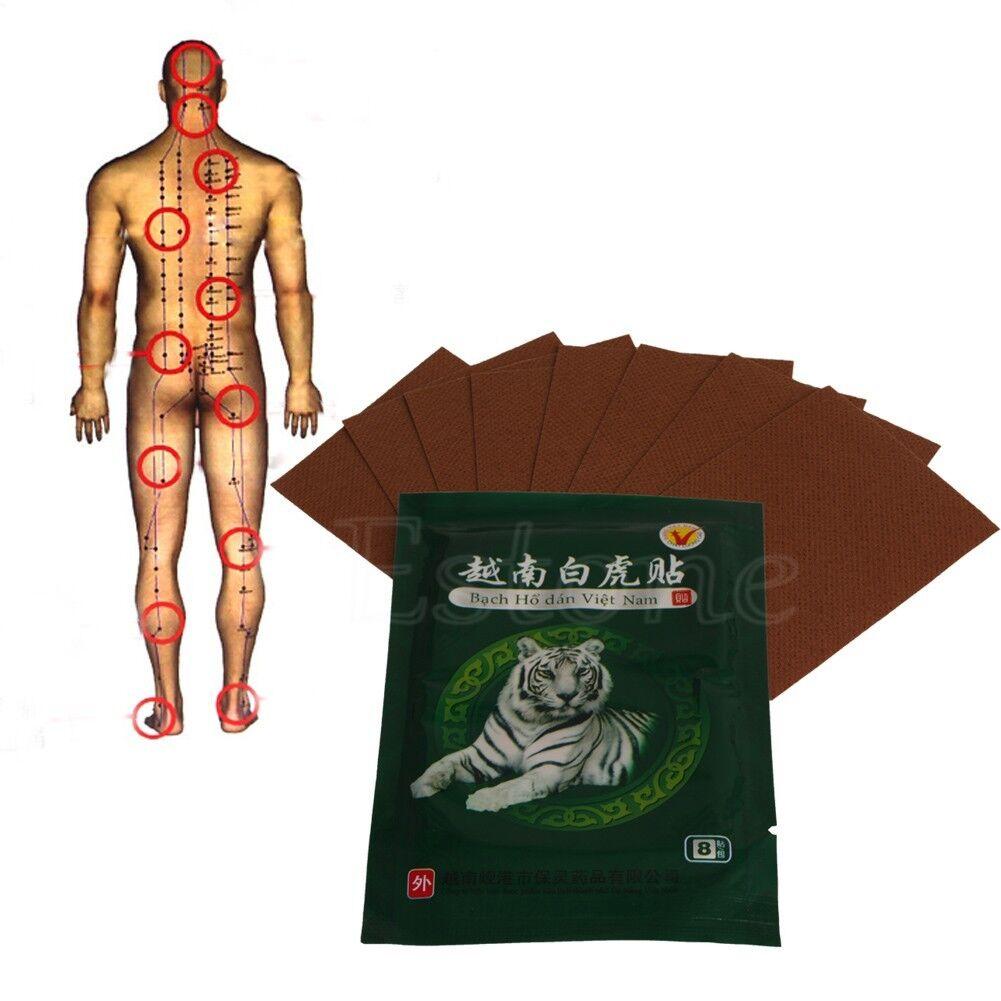 8pcs Spondylosis Tiger Balm Plaster Pain Relief Rheumatoid Arthritis ...