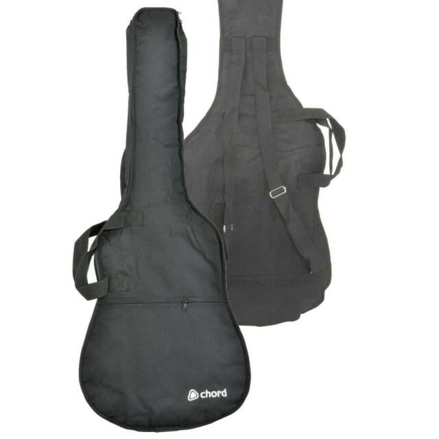 Chord Quality Nylon Bass Guitar Bag Case Zip Pocket Adj Sholder ...