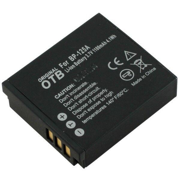Akku kompatibel zu Samsung IA-BP125A Li-Ion zB HMX-M20 / HMX-Q10  8004660