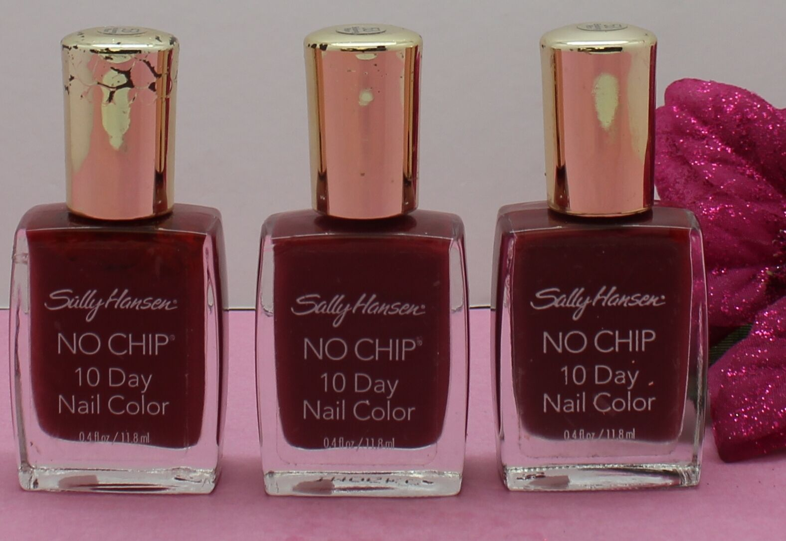 Sally Hansen No Chip 10 Day Nail Color 4840 - Enduring Plum | eBay