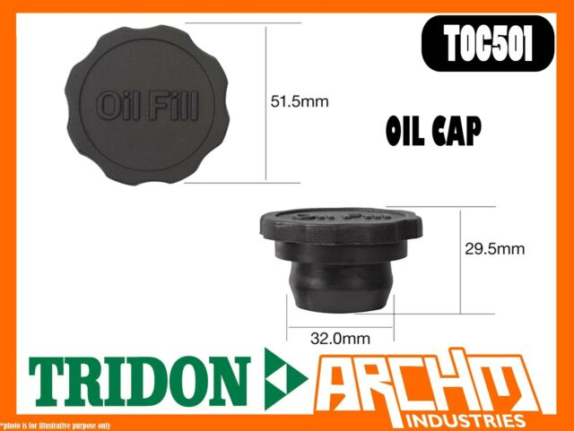 TRIDON TOC501 - OIL CAP - RUBBER PUSH IN -  COVER ORIFICE ENGINE OIL SUPPLY
