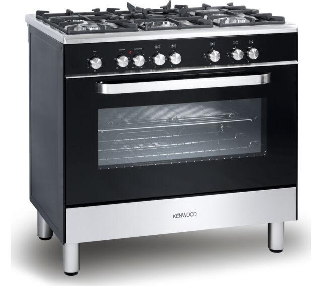 Kenwood Ck305-1 90cm Dual Fuel Range Cooker 5 Burner Hob
