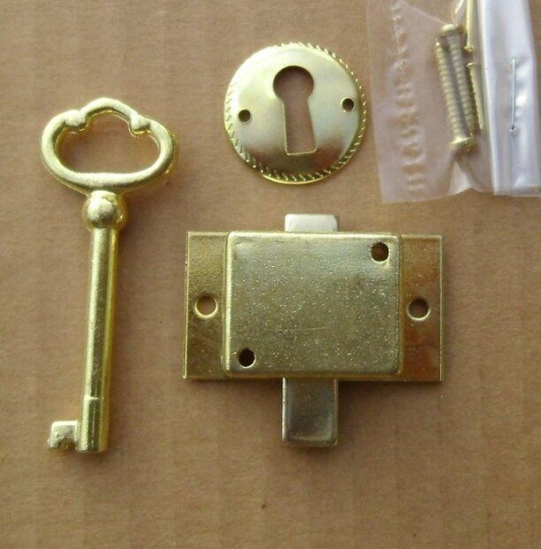 Cabinet Door Lock Set Key Curio Grandfather Clock China Jewlery NEW  Replacement - Cabinet Lock EBay