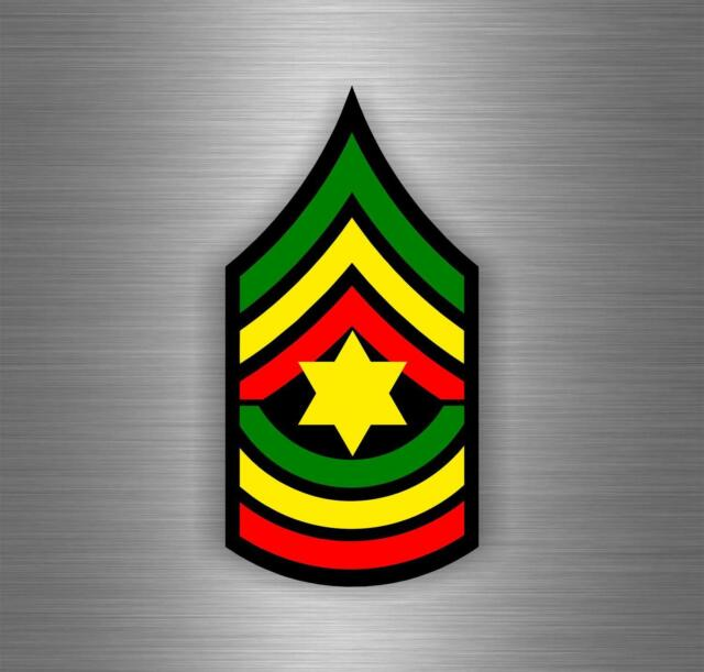 Sticker car rasta jah reggae one love lion flag jamaica ref3
