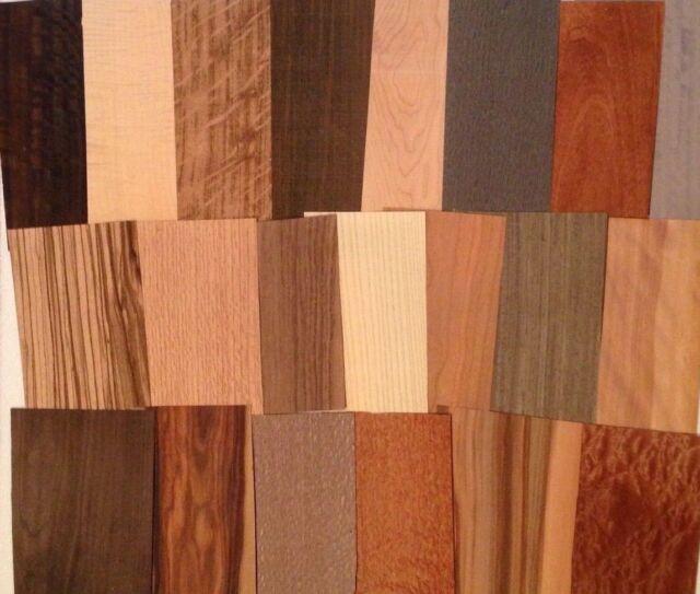 Wood veneer 20 square feet variety pack artist craft for Wood veneer craft projects