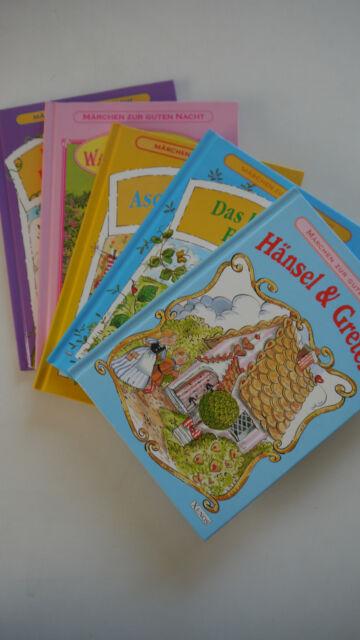 Märchen zur Guten Nacht - 5 Bücher - Aschenputtel / Die Wasserbabys / Hänsel...