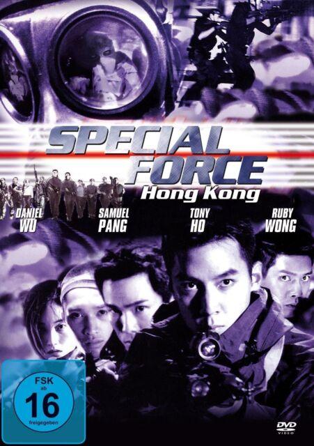 DVD/ Special Force Hong Kong - Action Thriller !! NEU&OVP !!