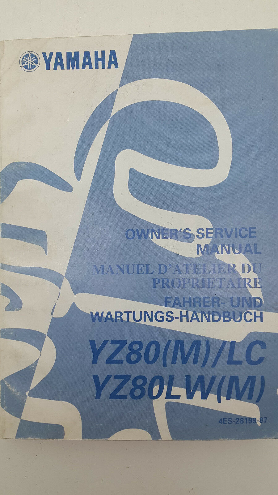 Yz 80 Manual Citroen C5 Workshop Repair Dvd Wiring Diagrams 1st 2nd Array Yamaha Yz80 M 2000 Yz80m Genuine Factory Service Rh Ebay Com