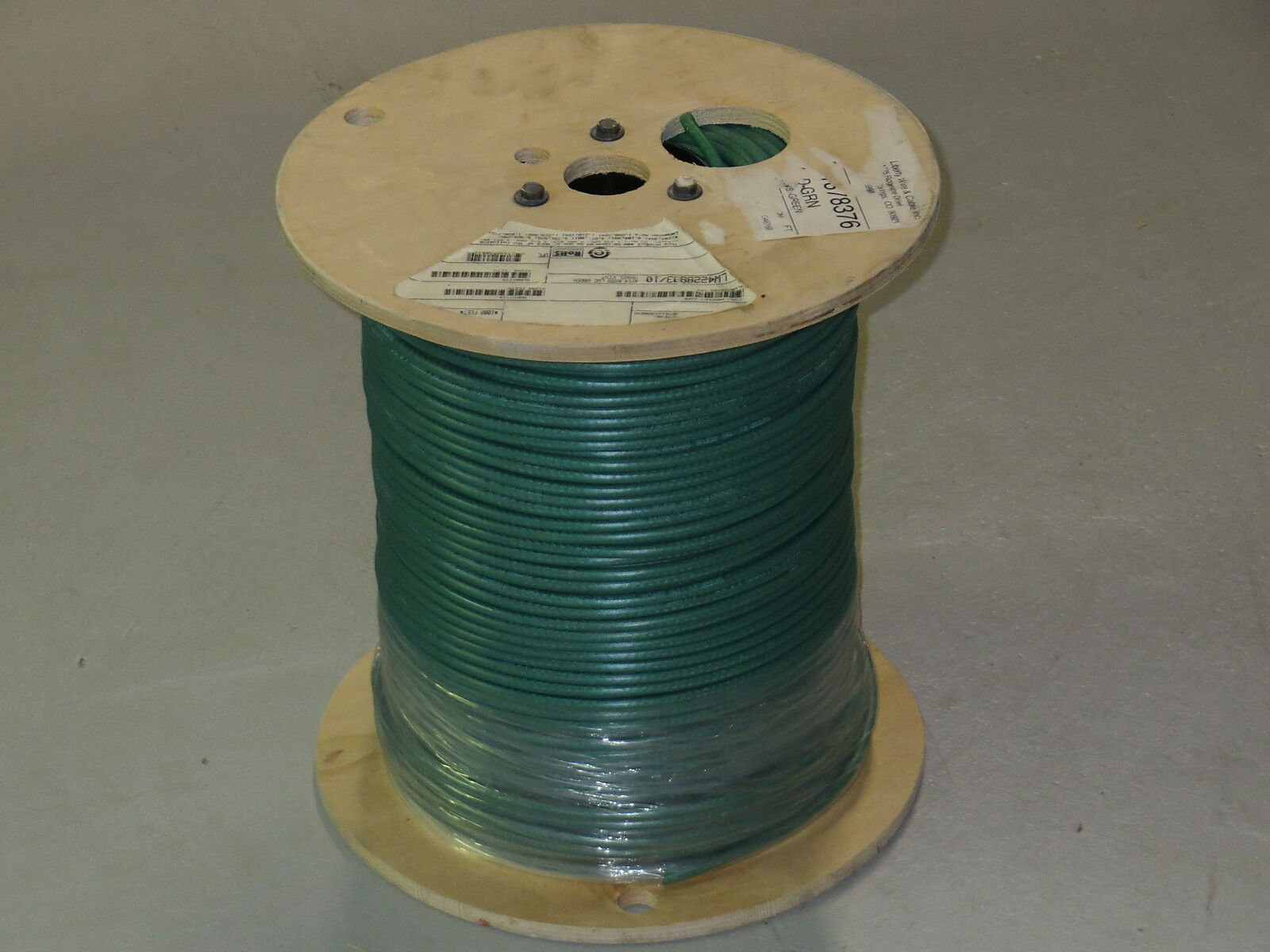 Liberty Wire & Cable Interflex-sd-grn Rg59 LWC Green 1000\' Reel 20 ...