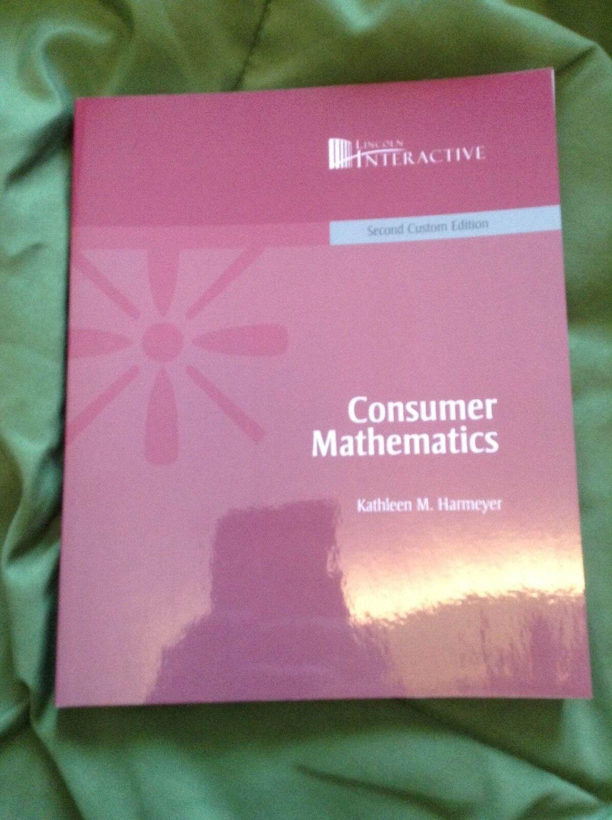 Consumer Mathematics by Kathleen M. Harmeyer (2007, Paperback ...