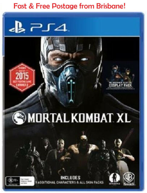 Mortal Kombat X XL PS4 Playstation 4 Game Brand New In Stock From Brisbane