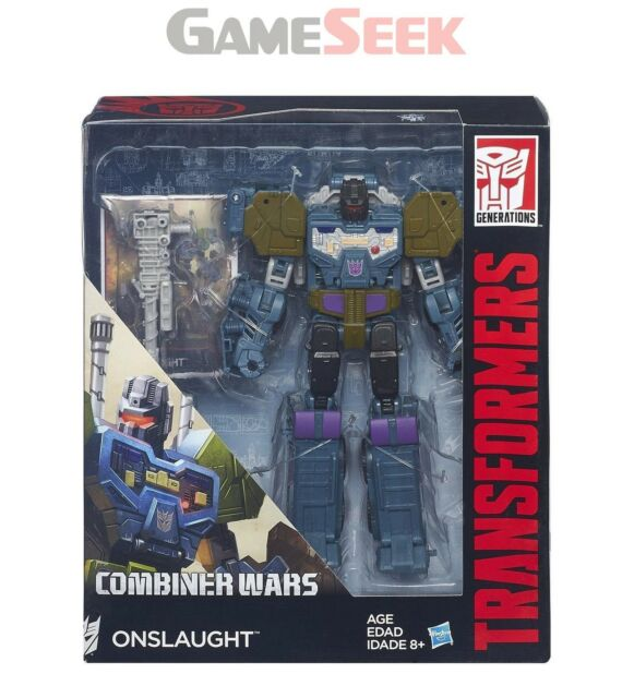 TRANSFORMERS GENERATIONS COMBINER WARS ONSLAUGHT FIGURE - TOYS BRAND NEW
