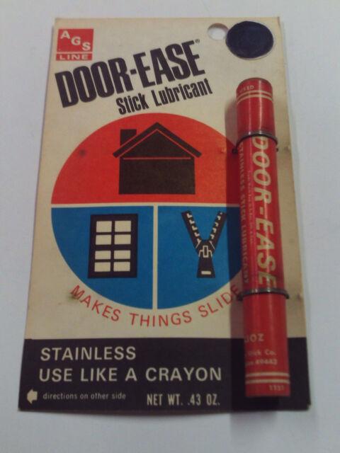 AGS Door-Ease Lube Stick .43 Oz. Stick Lubricant #DE-2 & Door Ease Lube Stik Lubricant Stick Auto Truck Latch Doors Hinges ...