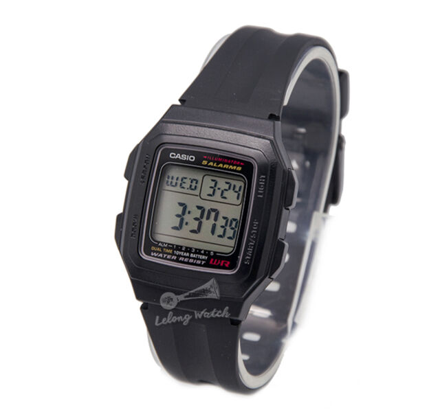 -Casio F201WA-1A Digital Watch Brand New & 100% Authentic