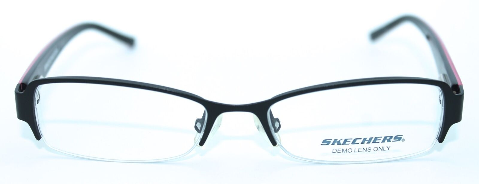 SKECHERS SK1006 SBLK 46/15 Satin Black Authentic Children Eyeglasses ...