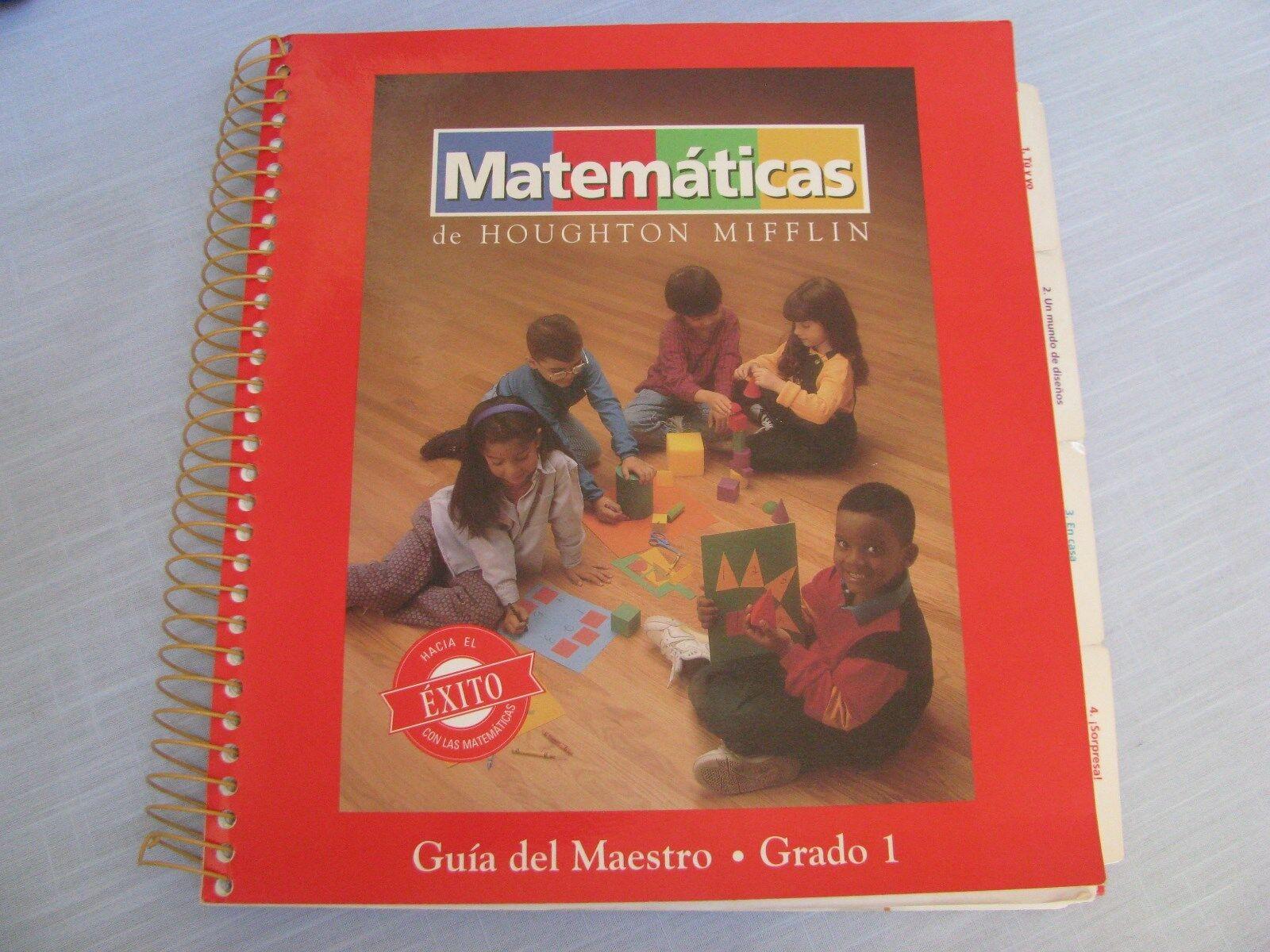 Houghton Mifflin Matematicas GIA Del Maestro Grado 1 Spanish Math ...
