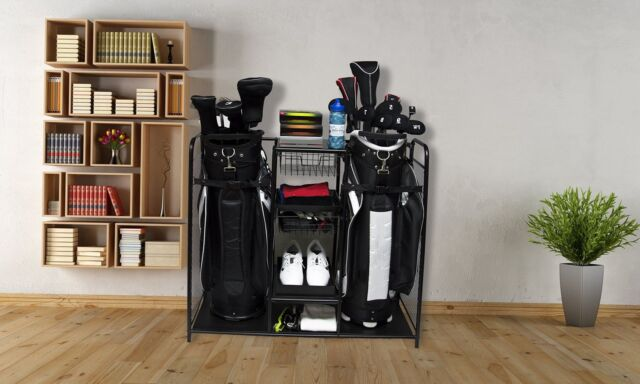 Golf Bag Storage Organizer Rack Club Equipment Holder New Accessories  Sports NEW