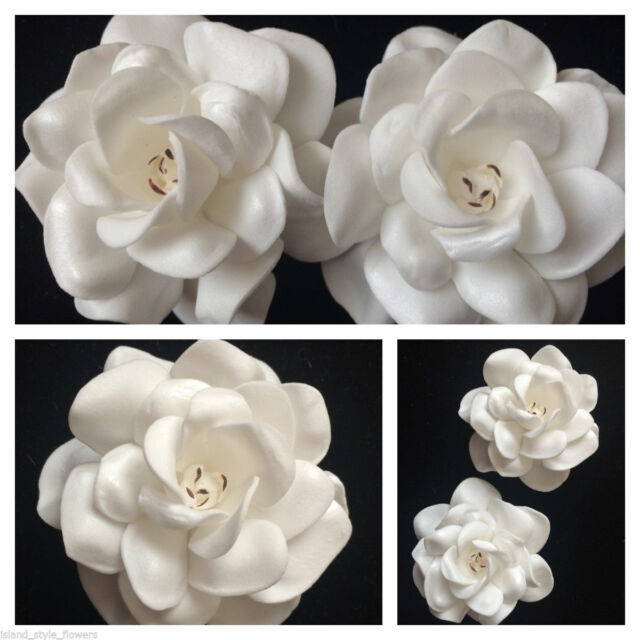 275 foam gardenia rose flower hair clip ivory white 275 foam gardenia rose flower hair clip ivory white mightylinksfo