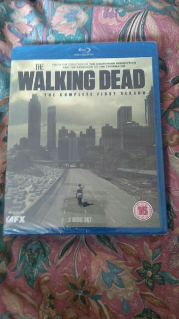 The Walking Dead - Series 1 - Complete (Blu-ray, 2011, 2-Disc Set, Box Set)