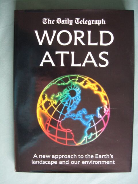 The Daily Telegraph World Atlas ISBN 0863672418 Hardback very good condition
