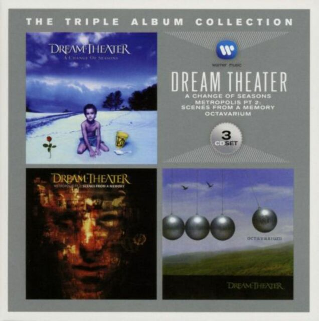 Dream Theater - Triple Album Collection, The (Change Of Seasons, A/Metropolis Pt