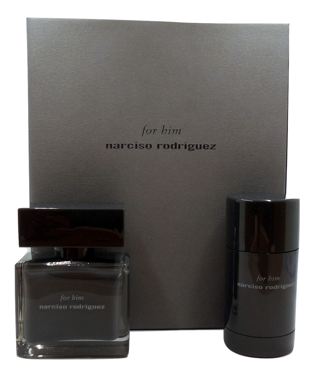 Narciso Rodriguez for Him Gift Set With EDT Spray 50ml Deodorant ...