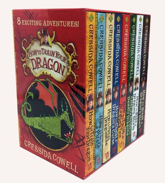 How to Train Your Dragon Collection Cressida Cowell 7 Books  eBay