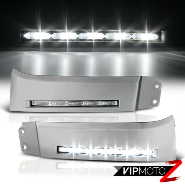 Coolest built in bumper led bar fog light daytime running lamp 2007 2013 toyota tundra 08 13 sequoia led smd drl bumper fog lights aloadofball Choice Image