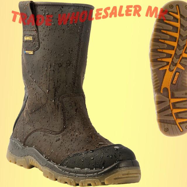 DeWALT Tungsten Weatherproof Rigger Safety Boots Latest Model