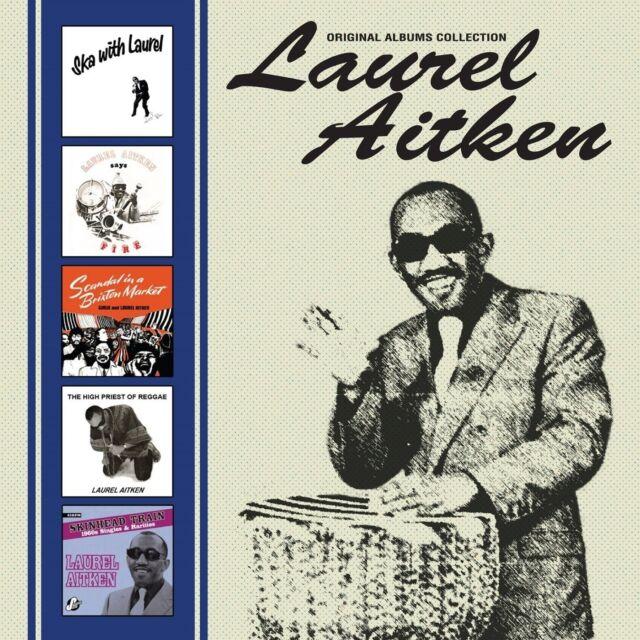 LAUREL AITKEN - ORIGINAL ALBUMS COLLECTION 5 CD NEU