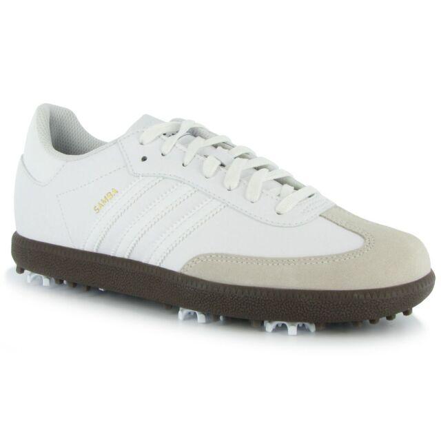 adidas samba junior scarpa da golf 6 medio bianco / tan ebay