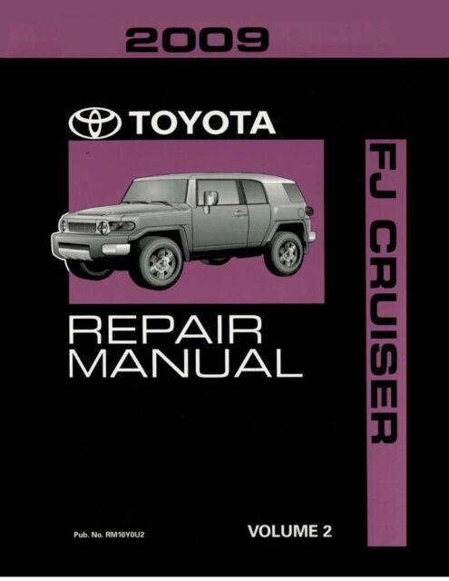 2009 toyota fj cruiser shop service repair manual volume 2 only ebay rh ebay com toyota fj cruiser repair manual pdf 2007 toyota fj cruiser repair manual pdf