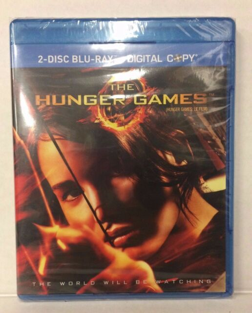 The Hunger Games Blu-ray & DVD, 2 Disc Set, NEW, SEALED