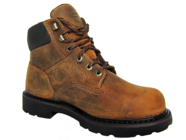 Wolverine SATURN Steel Toe EH Men's Ankle Work and Safety Brown Boots