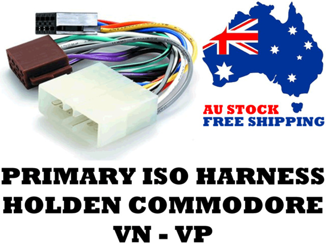 Aerpro APP060 Primary ISO Harness Suit Holden Commodore VN-VP