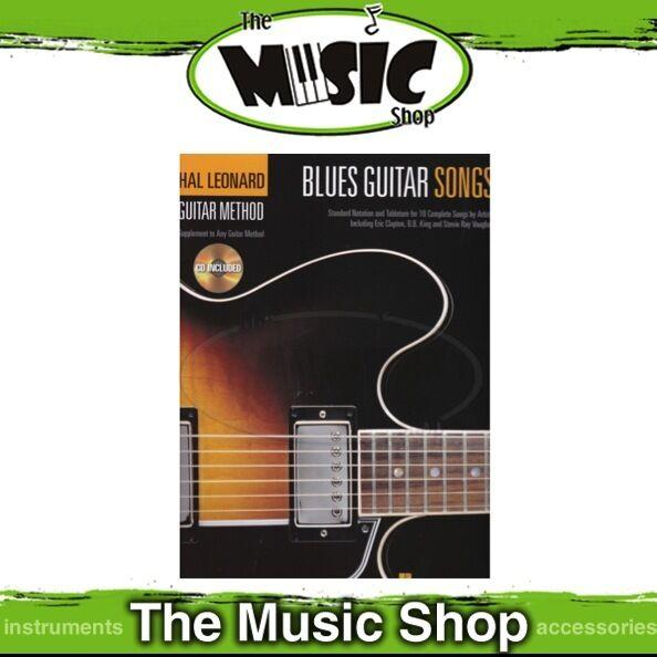 New Hal Leonard Guitar Method: Blues Guitar Songs Book & CD