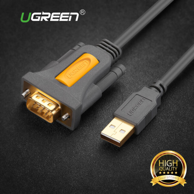 Ugreen usb to rs232 serial db9 9 pin converter adapter cable ugreen 2m usb 20 to serial rs232 db9 9pin pl2303 cable adapter converter new publicscrutiny Image collections