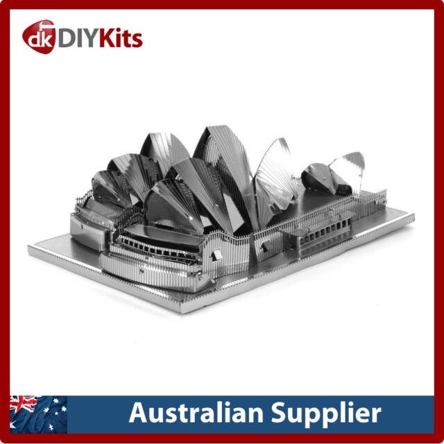 Metal Earth Sydney Opera House DIY laser cut 3D steel model kit