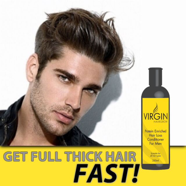 VIRGIN FOR MEN HAIR LOSS CONDITIONER STOP BALDING AND STIMULATES HAIR GROWTH